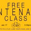 FREE Maintenance Class January 17, 2015