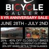 5 Year Anniversary Sale (June 28th to July 2nd)